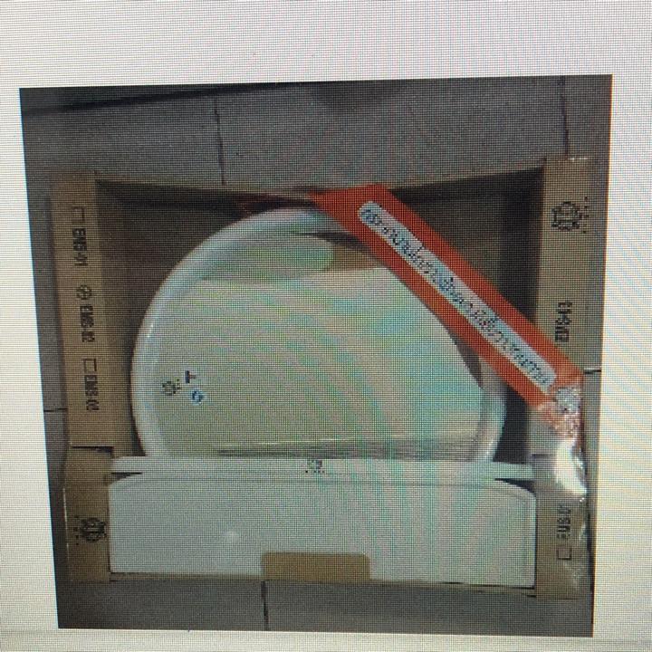 ems02กระจกชุดแบบกลม3ชิ้น ขาว
