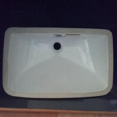 อ่างล้างหน้าฝังใต้เคาน์เตอร์ WP-0418 สีขาว