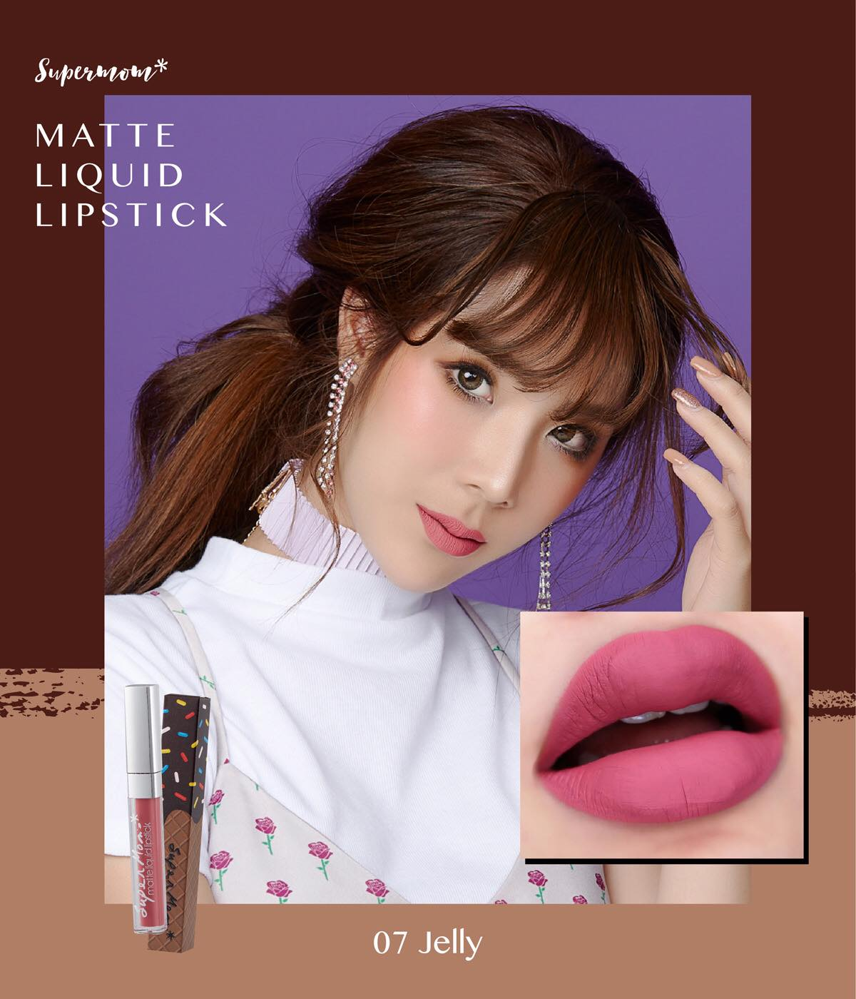 MATTE LIP CHOCO NO.07 Jelly
