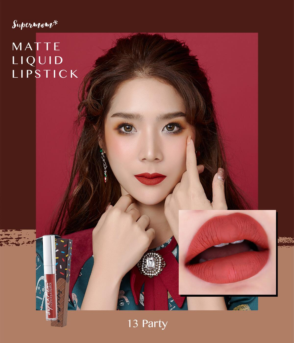 MATTE LIP CHOCO NO.13 Party
