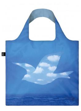 กระเป๋าผ้าแฟชั่นแบรนด์LOQI รุ่นLOQI Museum Rene Magritte's The Promise Reusable Shopping Bag