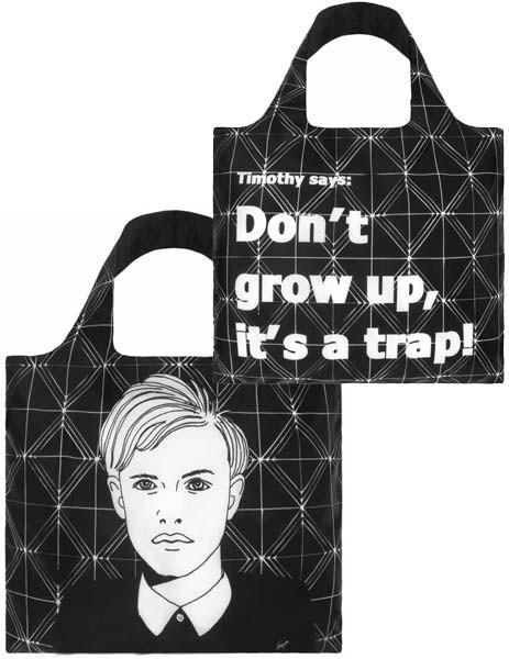 กระเป๋าผ้าแฟชั่นแบรนด์LOQI รุ่น Timothy ใบใหญ่1ใบ+ใบเล็ก1ใบ