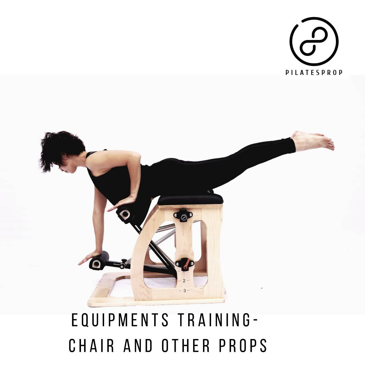 Pilatesprop Equipment- Chair, Spine Corrector, Arch, and Glider