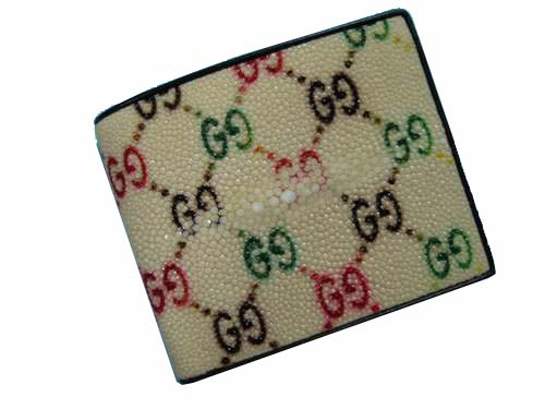 Genuine Stingray Leather Wallet  #STW480W