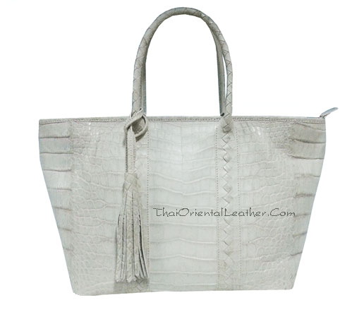 Himalayan Belly Crocodile Leather Handbag #CRW342H-NA-BELLY