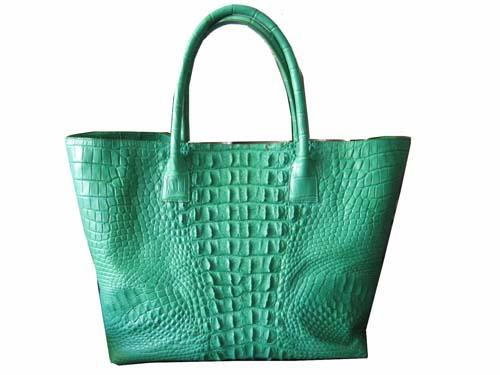 Genuine Crocodile Handbag in Green Crocodile Leather #CRW244H-02
