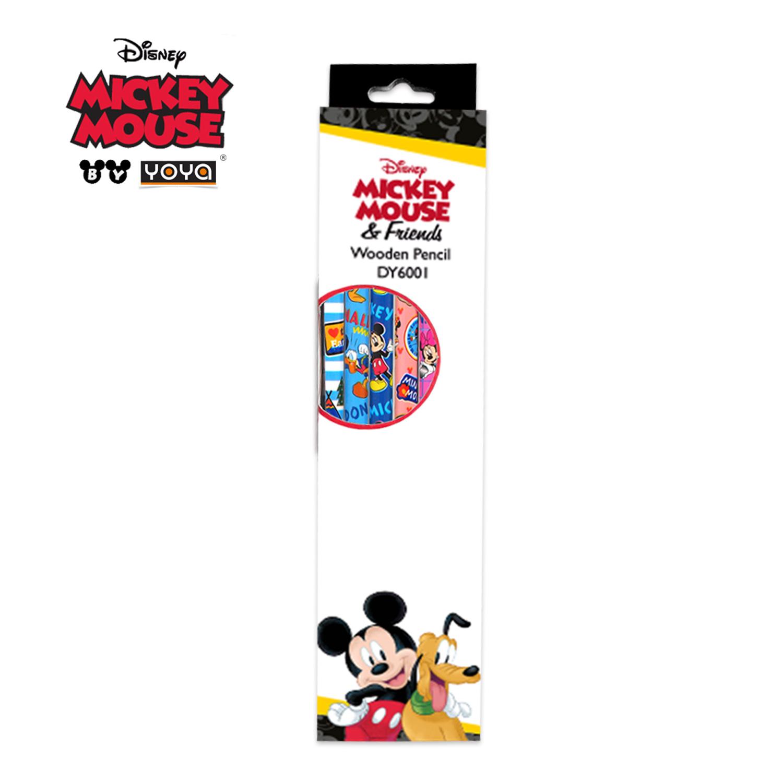 YOYA ดินสอไม้ HB : Mickey&Friends รุ่น DY6001