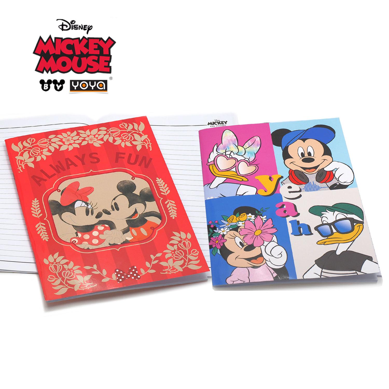 YOYA สมุดปกอ่อน A4 : Mickey&Friends รุ่น DY16-105