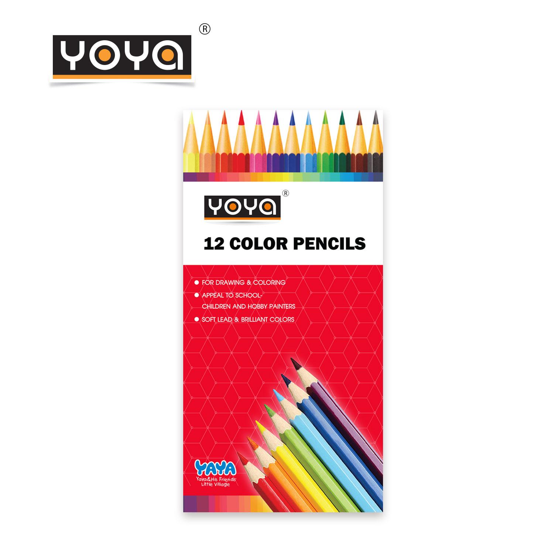 YOYA Color Pencils 12 Colors  No. 551-12