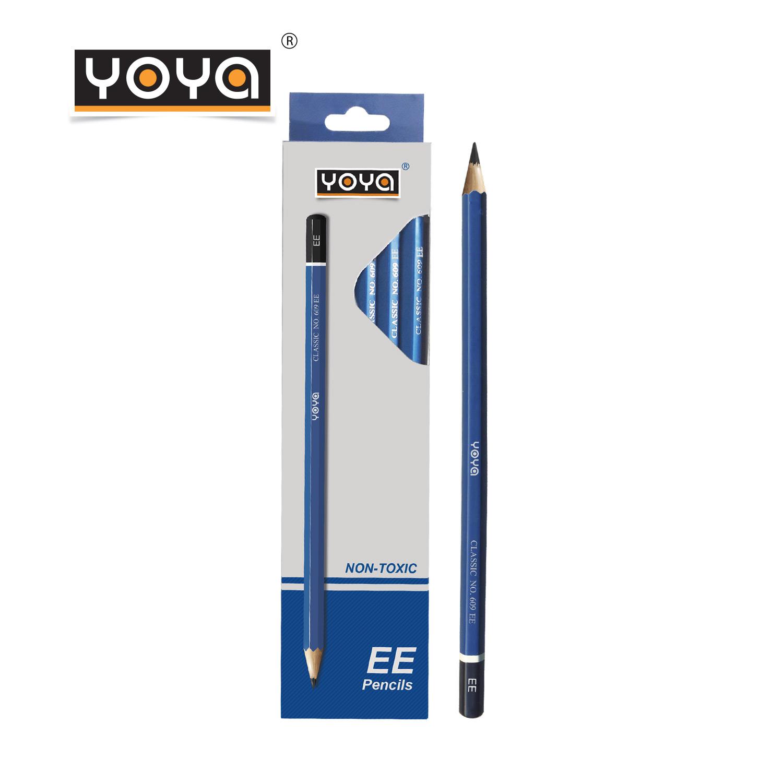 YOYA ดินสอไม้-EE แพ็ค 12 รุ่น 609-EE