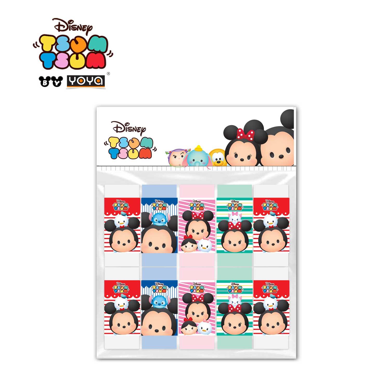 YOYA  Pack 10 Rubber : Tsum-Tsum DY5886