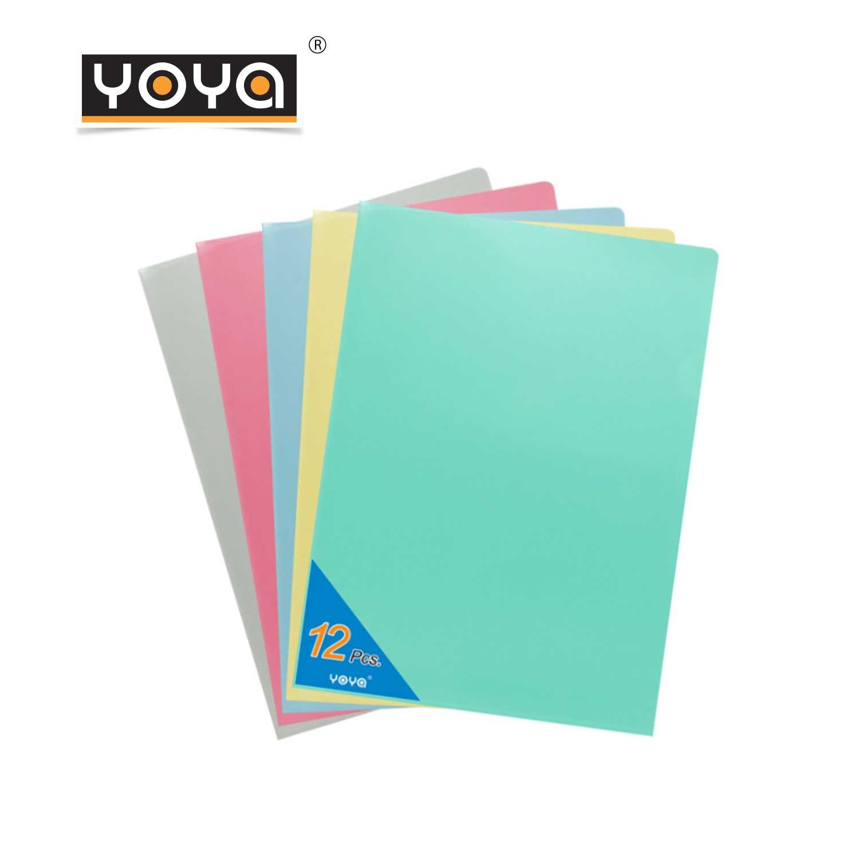 YOYA  A4 Plastic File Pack 12 : E310