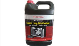 น้ำยาหม้อน้ำ TOYOTA  (4ลิตร)