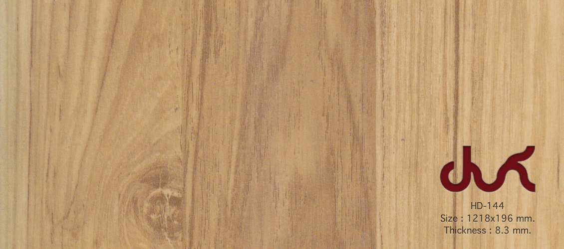 HD-144 QDM LAMINATE 8 mm.
