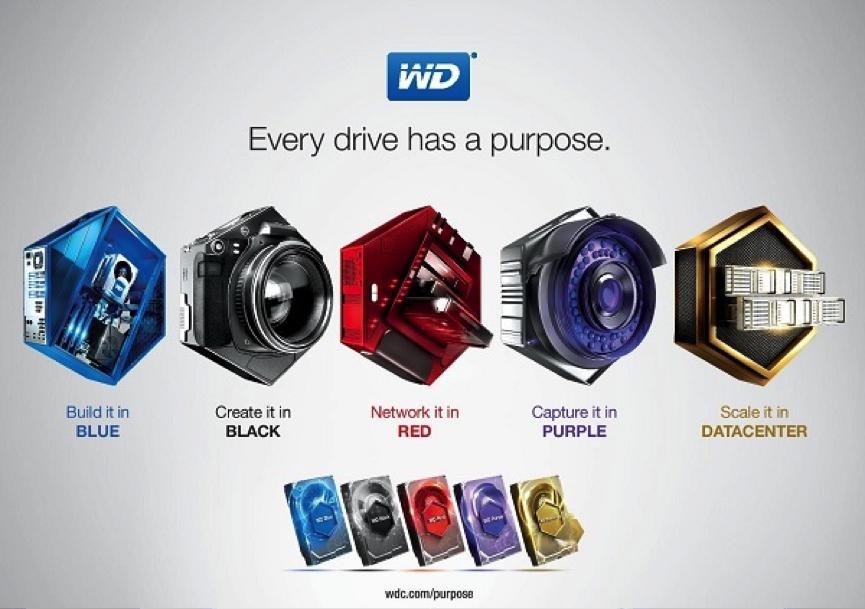 """""""มาทำความรู้จักกับ Hard disk ของ Western Digital (WD) แต่ละสีกัน"""""""