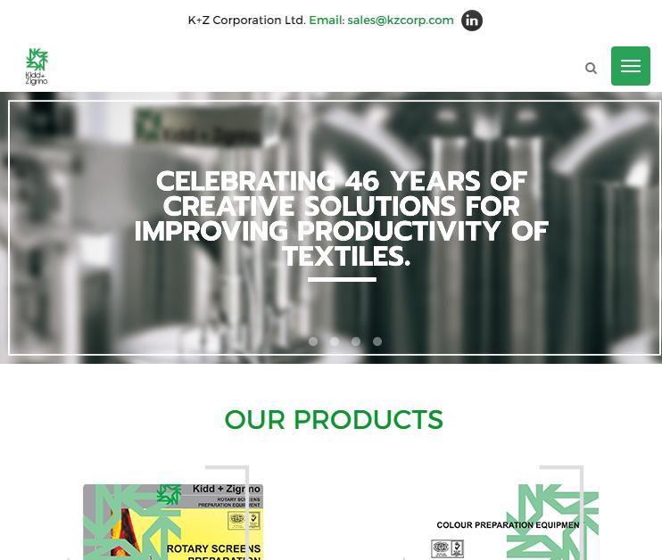 Kidd+Zigrino (K+Z Corporation Ltd.) launches user-friendly new website