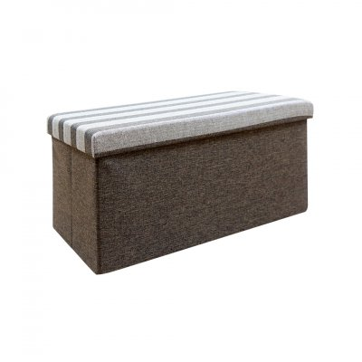 BENCH BOX BROWN