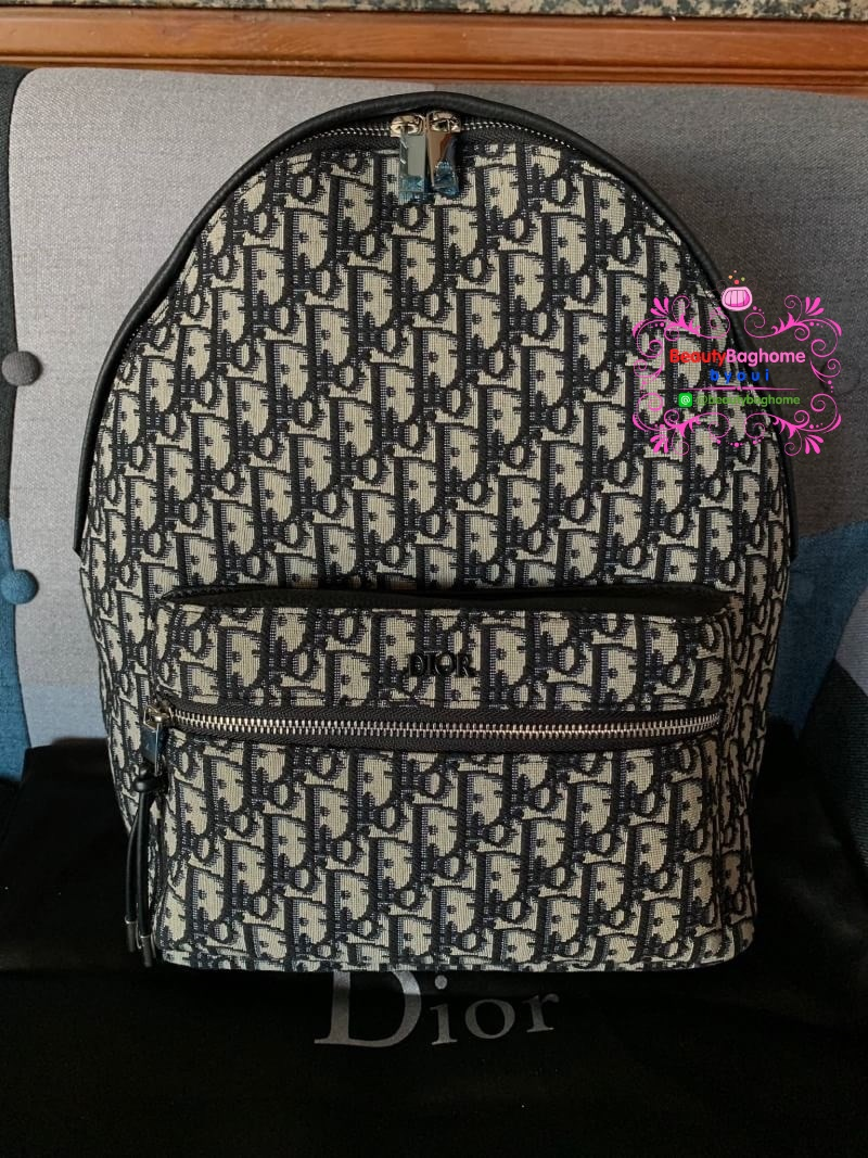 Dior oblique backpack hiend 1:1