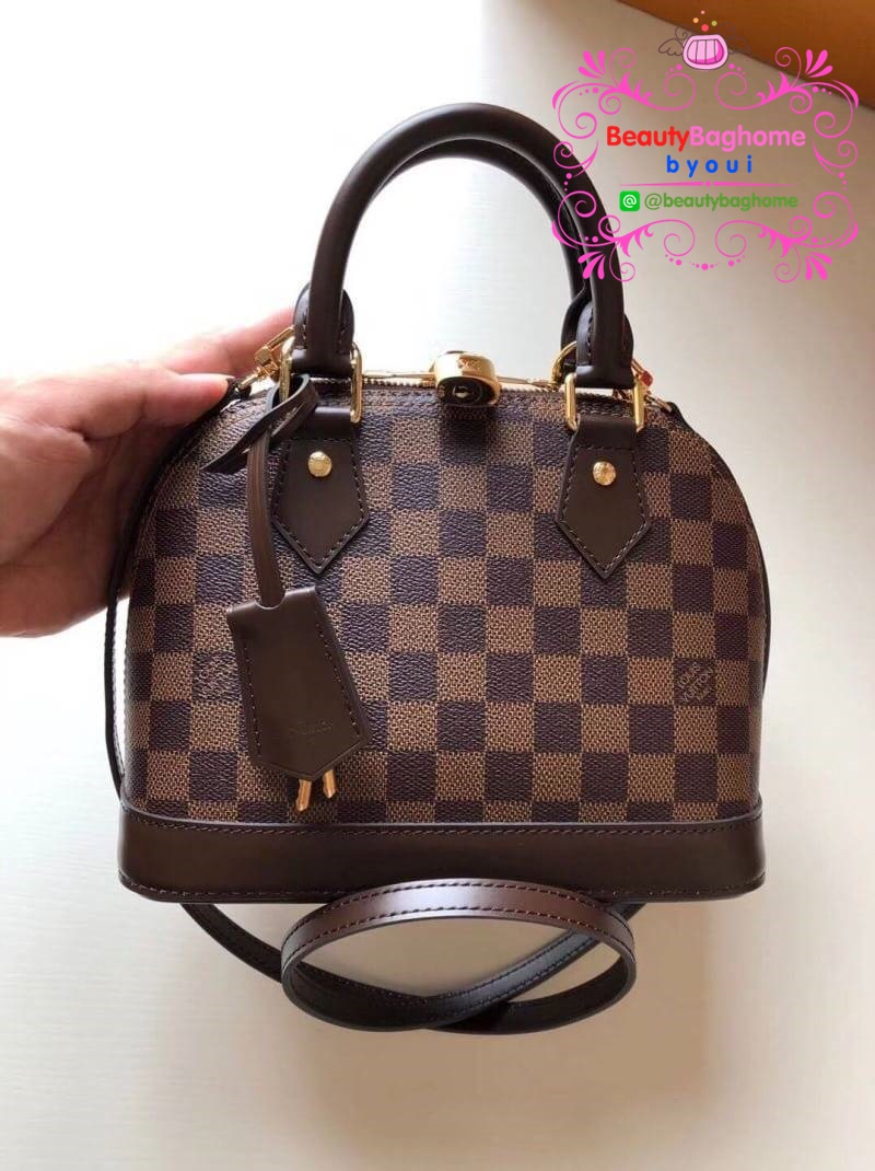 Louis vuitton alma bb งานOriginal leather