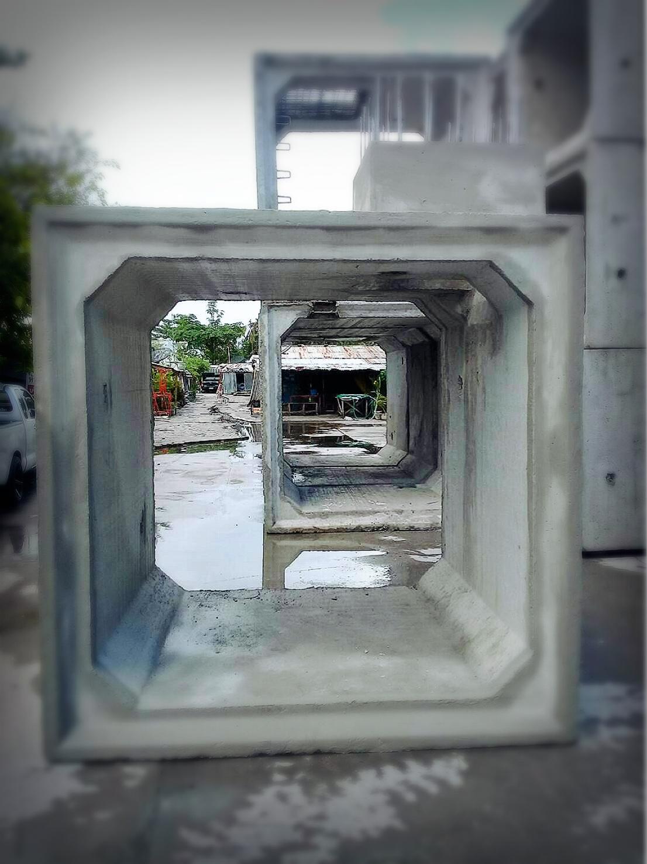 บ่อพักคอนกรีตเสริมเหล็กสำหรับ ท่อสี่เหลี่ยม (Box out)