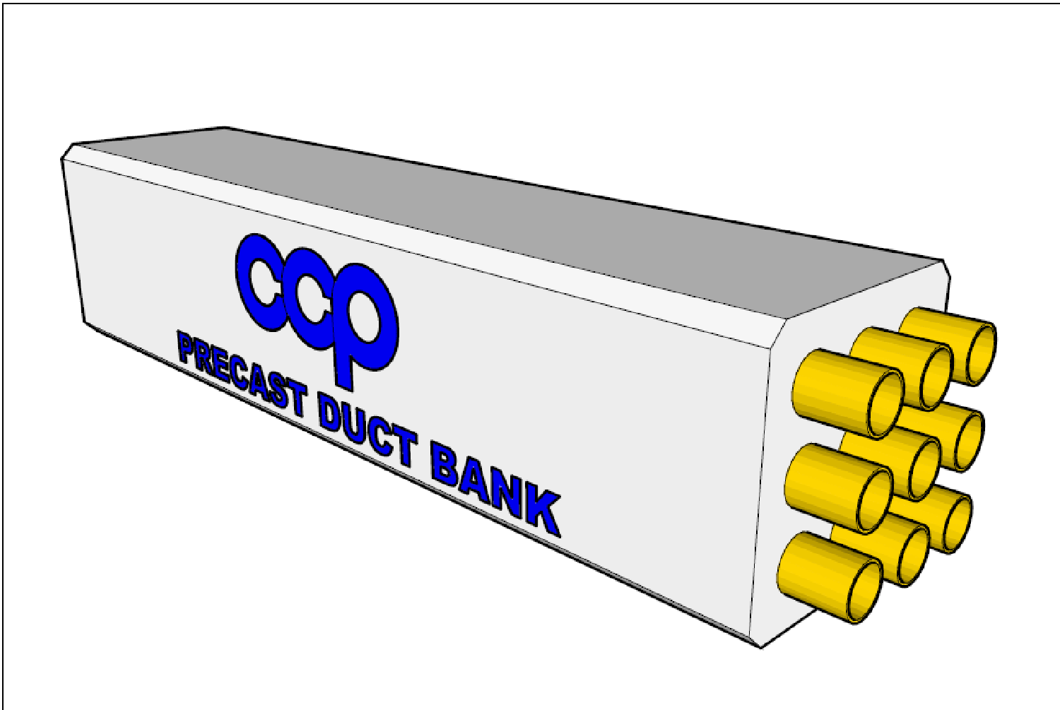 Electrical Precast Duct Bank