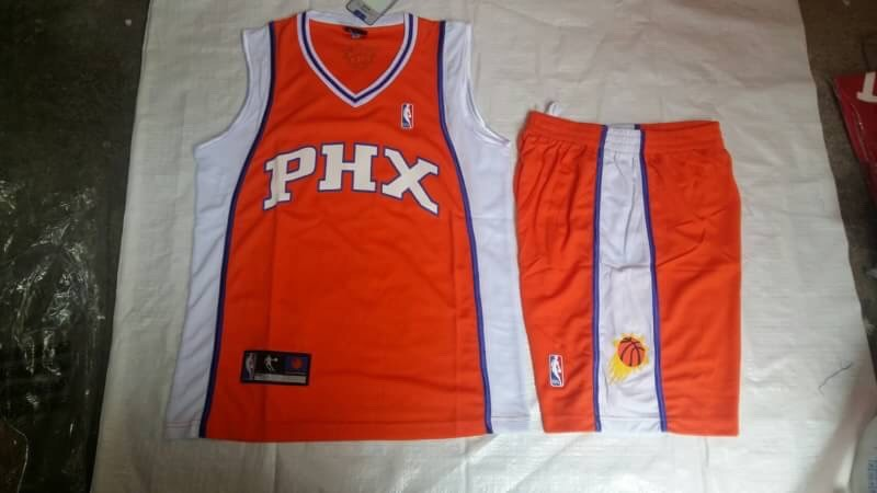 ชุดบาสเกตบอล PHX สีส้ม
