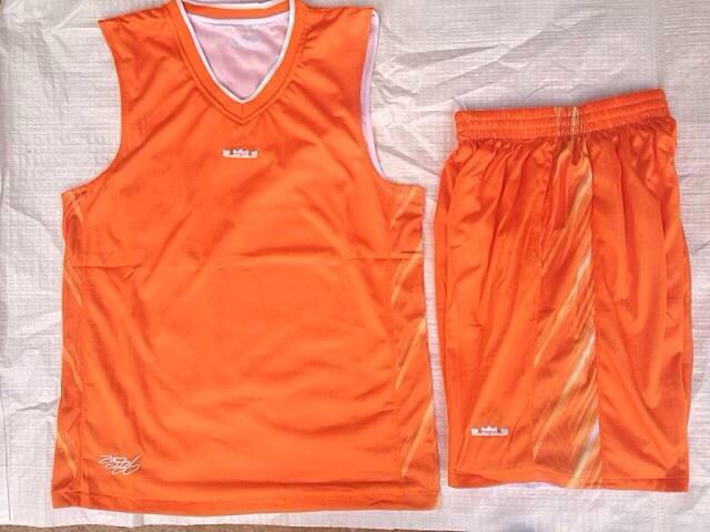 ชุดบาสเกตบอล Lebron2017 สีส้ม