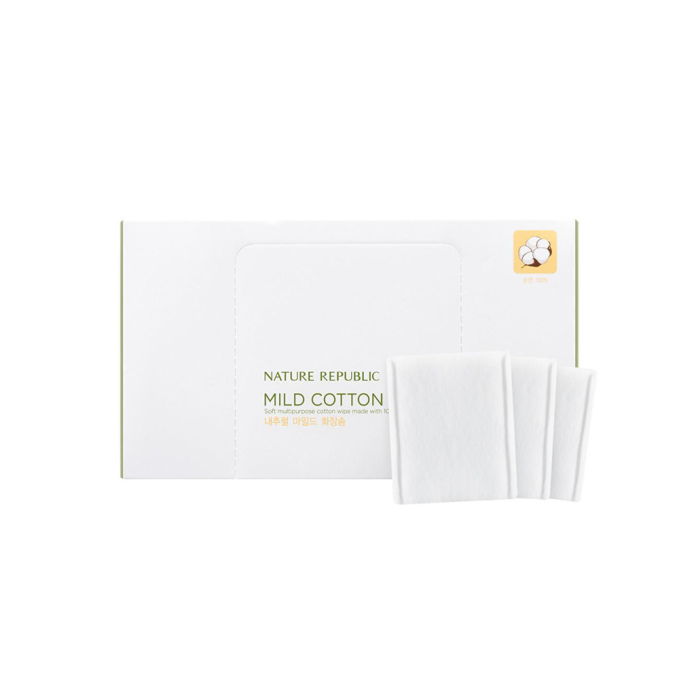 BEAUTY TOOL NATURAL MILD COTTON WIPE