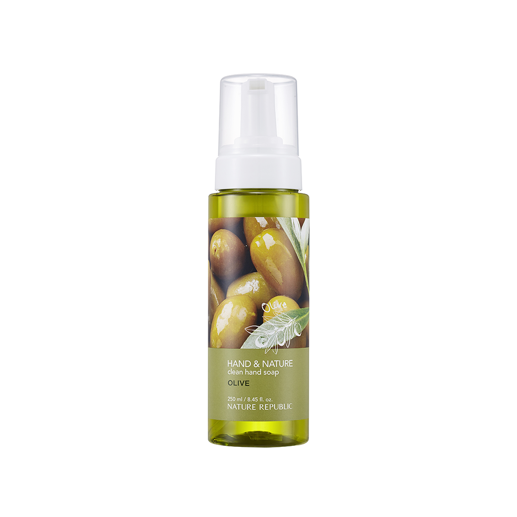 HAND & NATURE CLEAN HAND SOAP-OLIVE (250ml)