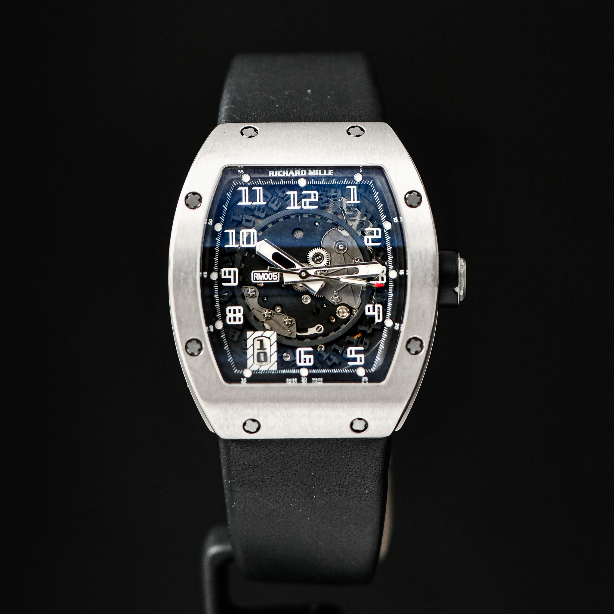 Richard Mille (RM) RM05 Whitw Gold
