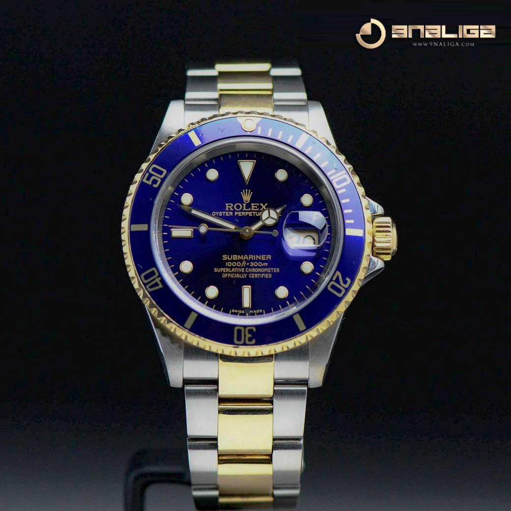 Rolex Submariner Blue 2Tone Film