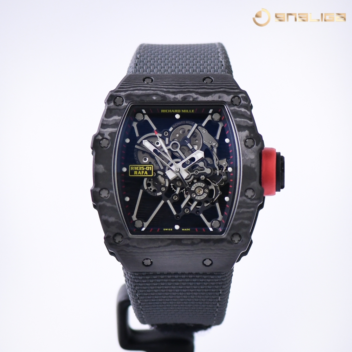 Richard Mille Rafael Nadal Signature Watch Black NTPT Carbon RM035-01