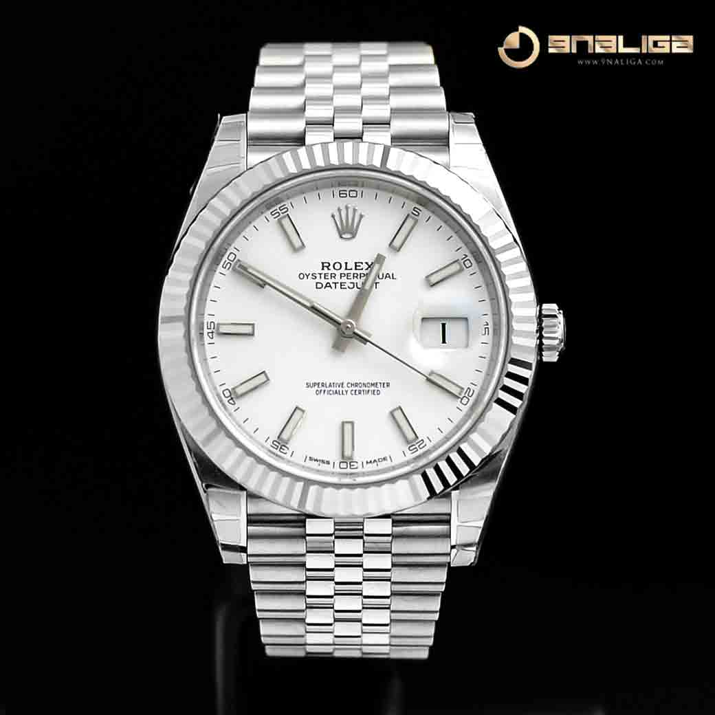 126300 Datejust Ii 41mm White Dial Jubilee