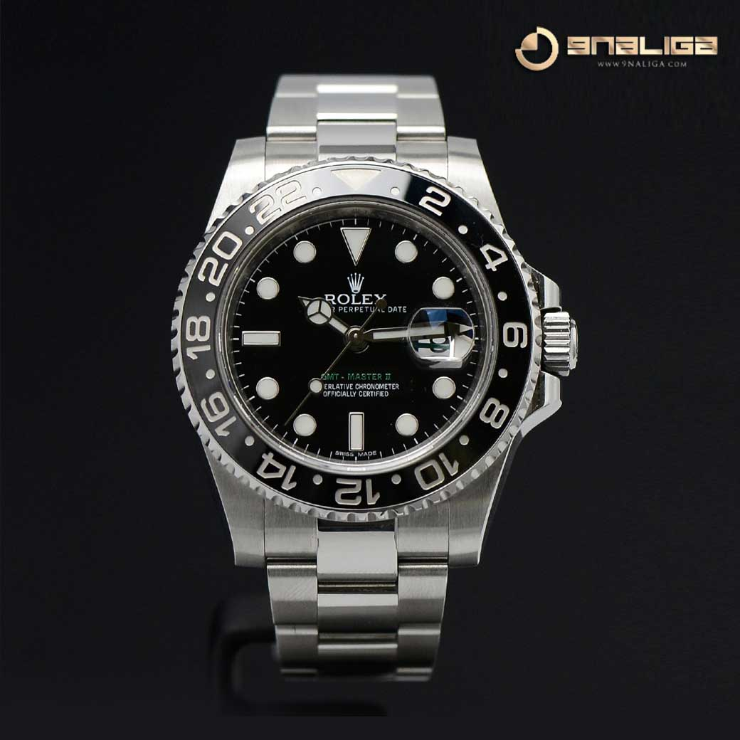 Rolex GMT-Master II Greenhand Ceramic Steel 116710LN