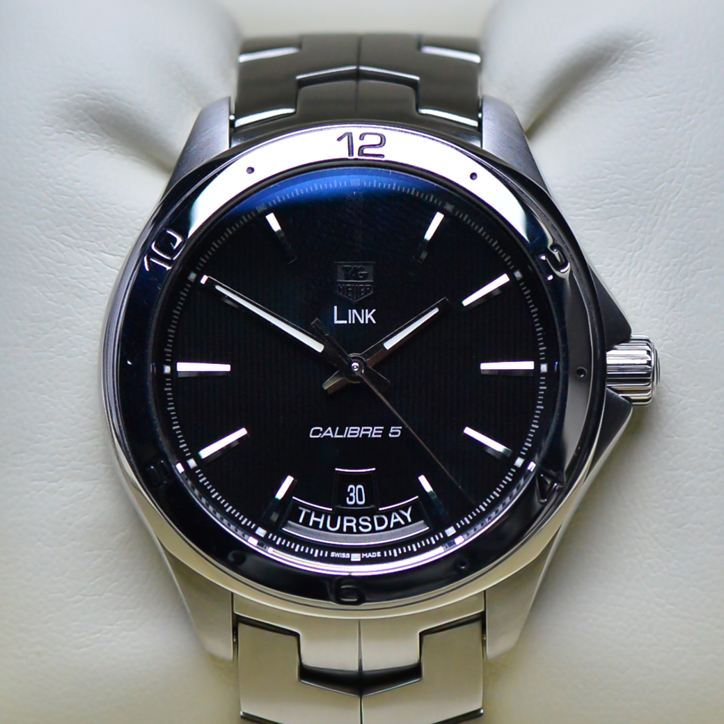 Tag Heuer Link Automatic Black Dial Men's Watch