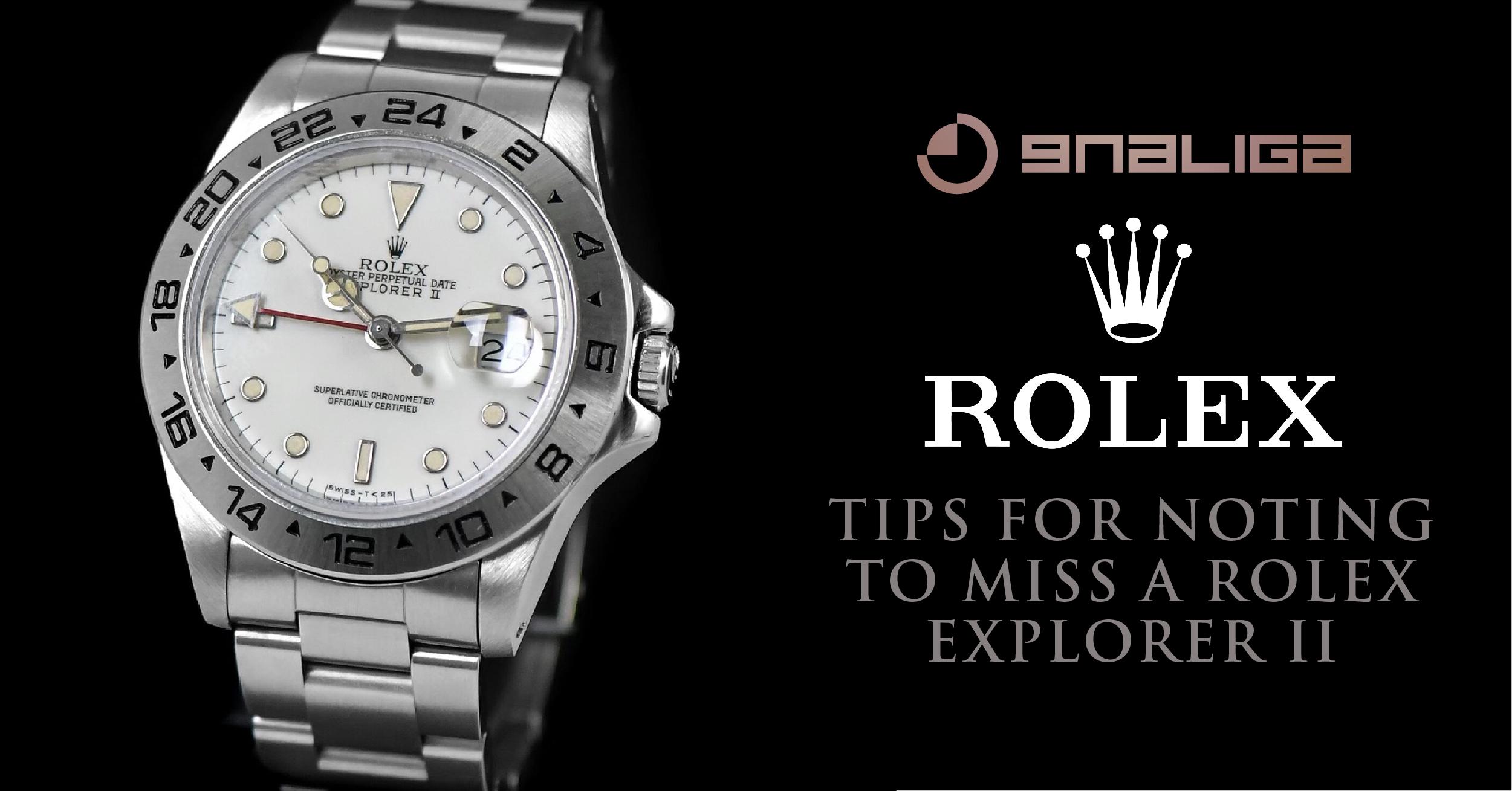 ทีเด็ดความลับนาฬิกาที่ไม่ควรพลาดกับ Rolex Explorer II