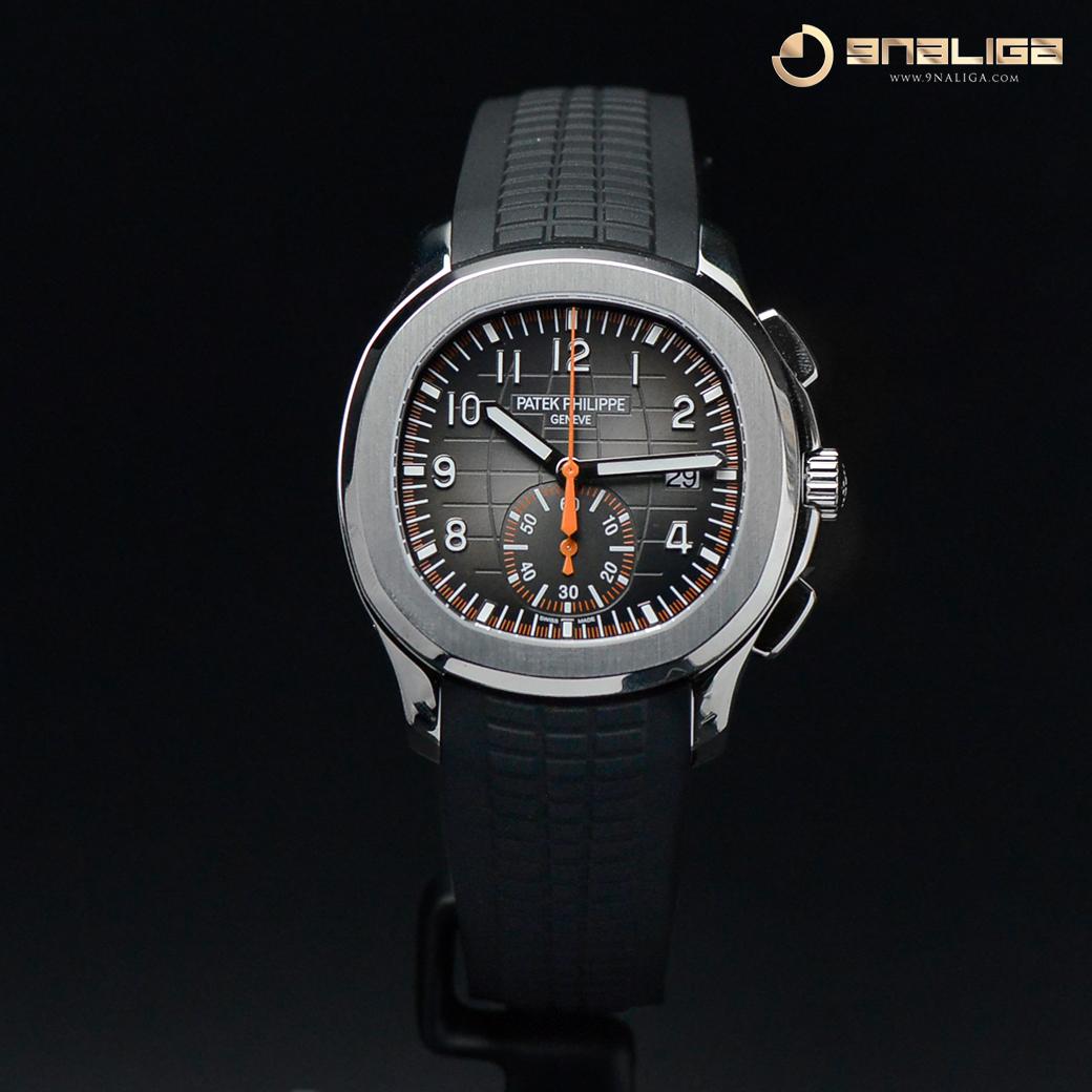 "Patek Philippe 5968A is ordering for my customer ""Chronograph Aquanaut"" 42m Orange Hand"