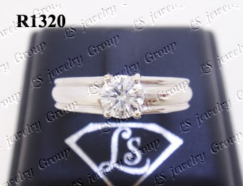 แหวนเพชร (Diamonds Ring) เพชร Heart&Arrow – Russian Cut Finest Diamonds