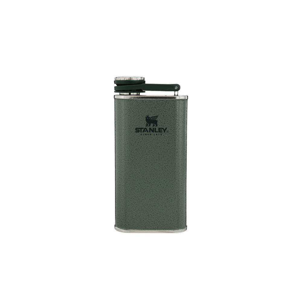 CLASSIC WIDE MOUTH FLASK 8OZ HAMMERTONE GREEN