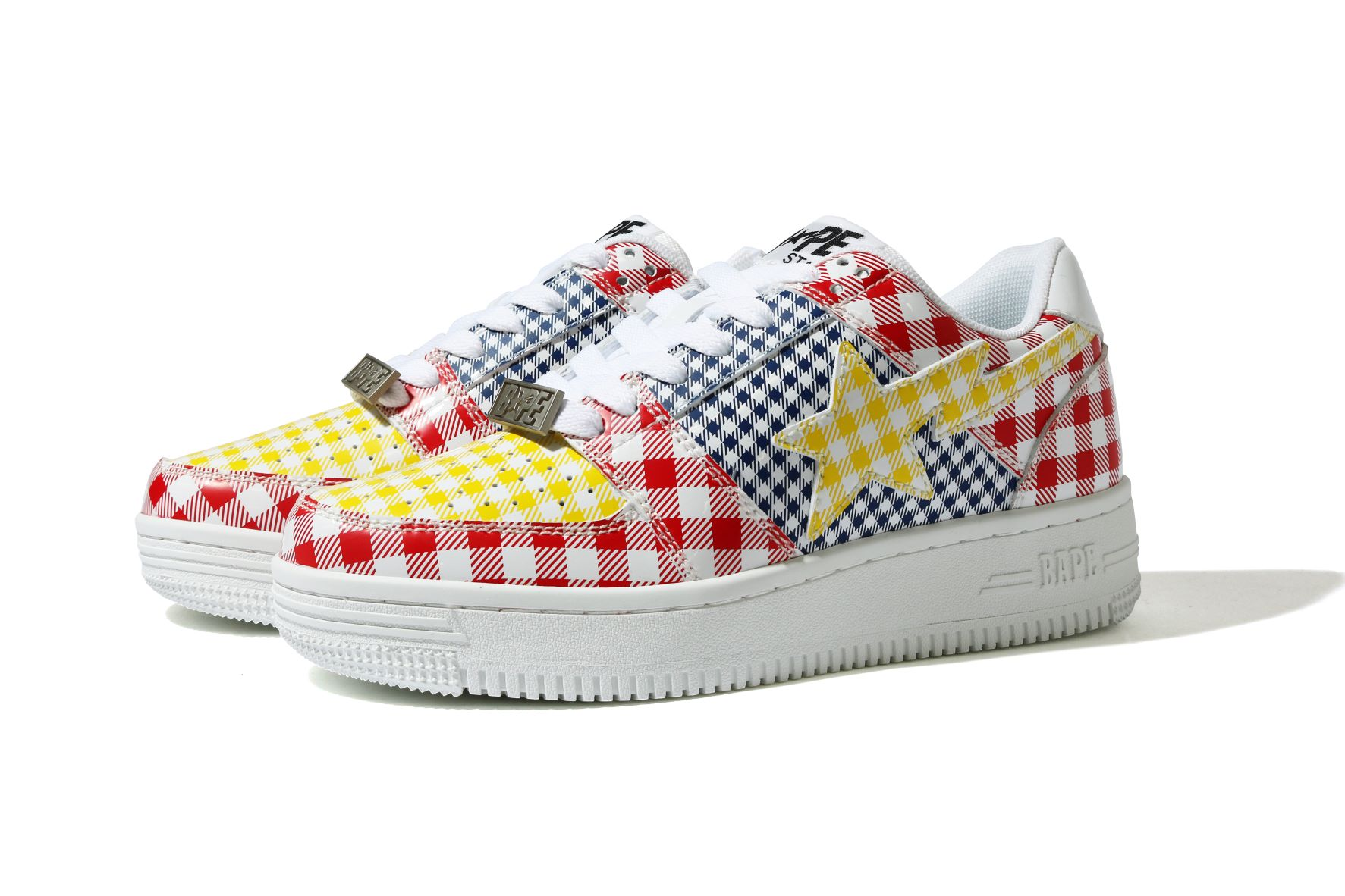 SHOES_GINGHAM CHECK MULTI PATTERN BA_S/S 21