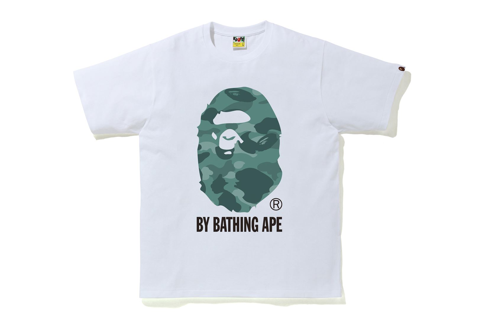 TSHIRT_COLOR CAMO BY BATHING APE_S/S 21