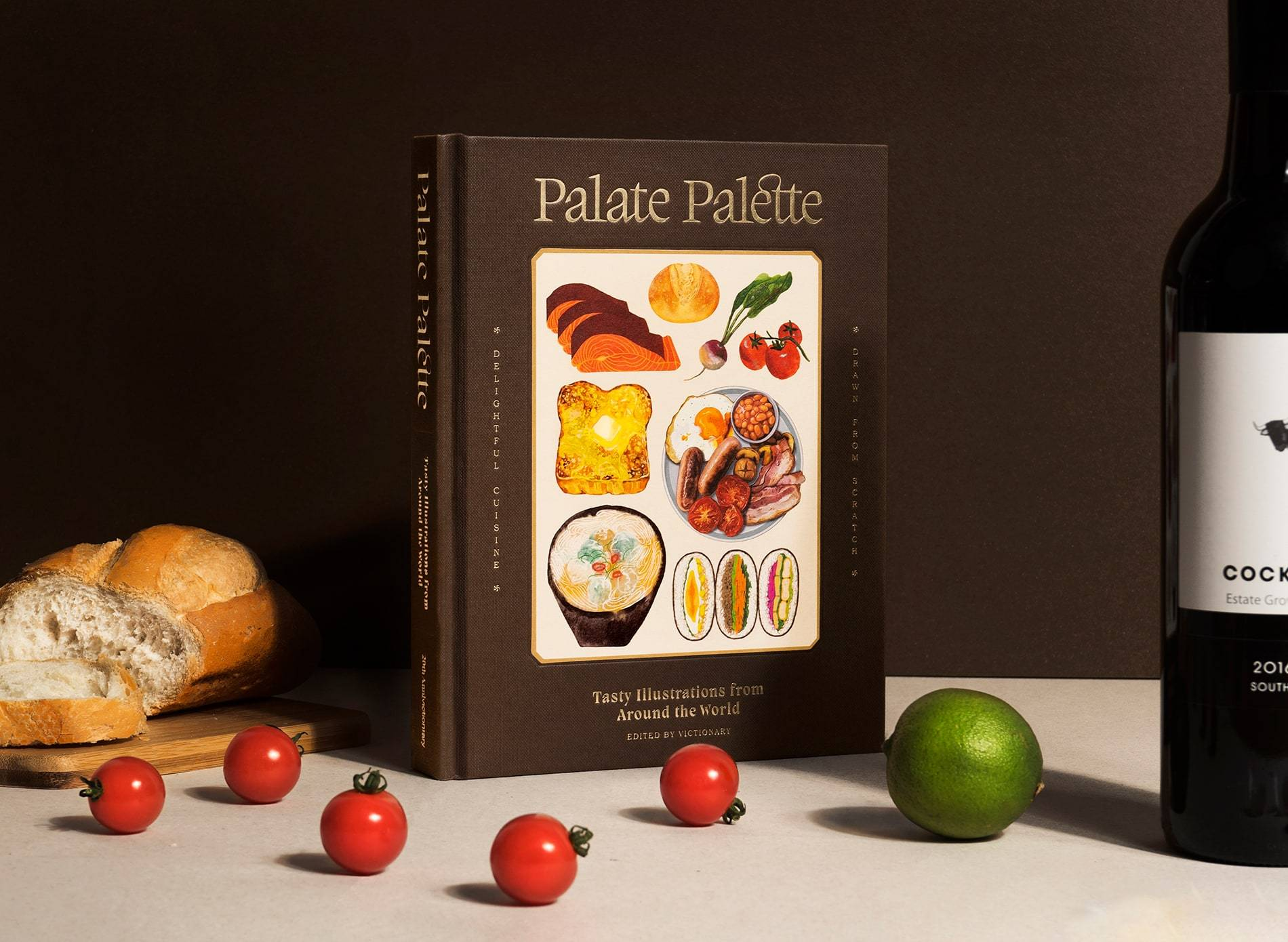 Pre-Order * ( Eng) Palate Palette : Tasty Illustrations From Around The World Victionary (Author)
