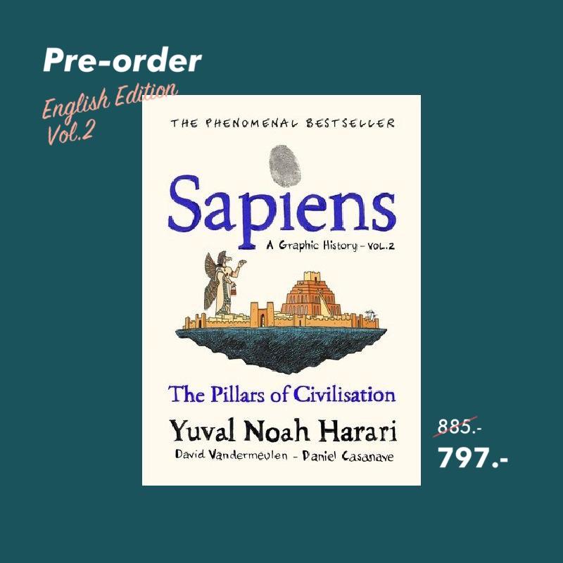 Pre-order * Sapiens Graphic Novel Volume 2 (Hardback) / Yuval Noah Harari : author
