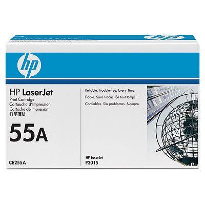 HP 55A (CE255A) ดำ