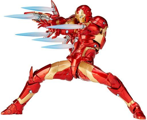 [Price 3,250/Deposit 2,000] IRON MAN Bleeding Edge Armor, Amazing Yamaguchi No.13, Kaiyodo, Action Figure