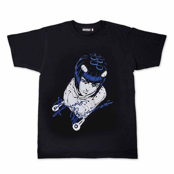 [Price 2,400/Deposit 1,400][DEC2020] JOJO T-Shirt Bruno Bucciarati, BLACK, Jojo's Bizarre Adventure Part 5, Vento Aureo, Golden Wind