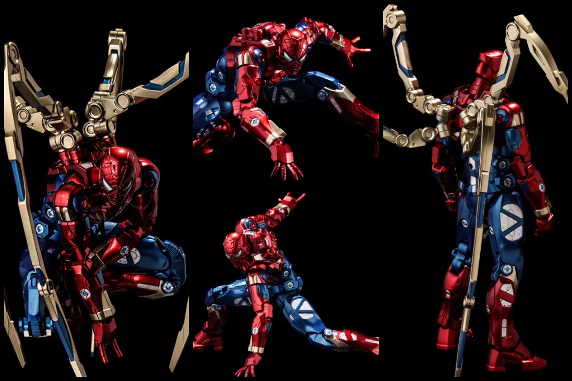 FIGHTING ARMOR, IRON SPIDER - งานสร้างสรรค์ชิ้นสุดท้ายจากโทนี่ถึงสไปดี้