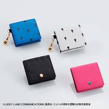 [Price 4,900/Deposit 3,300][AUG2021] JOJO Golden Wind Coin Case Leather Collection 1, Jojo's Bizarre Adventure Part 5, Vento Aureo