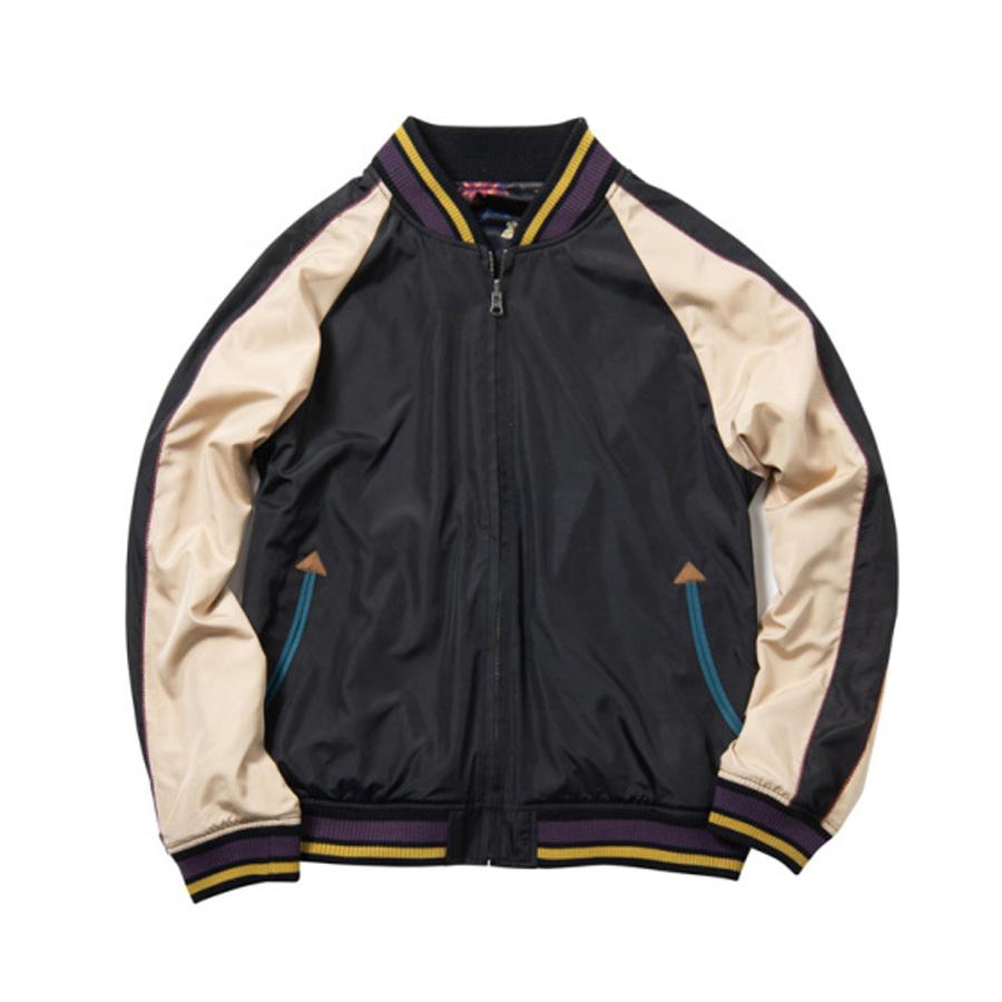 [Price 14,500/Deposit 8,000][Please read detail] Glamb, Sukajan Jacket, Giorno Giovanna, Black, Jojo's Bizarre Adventure Part 5, Vento Aureo, Golden Wind