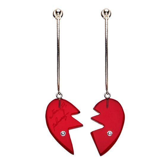[Price 3,950/Deposit 2,950][JAN2021] JOJO, Polnareff's Heart Earrings, Jojo's Bizarre Adventure Part 5, Vento Aureo, Golden Wind